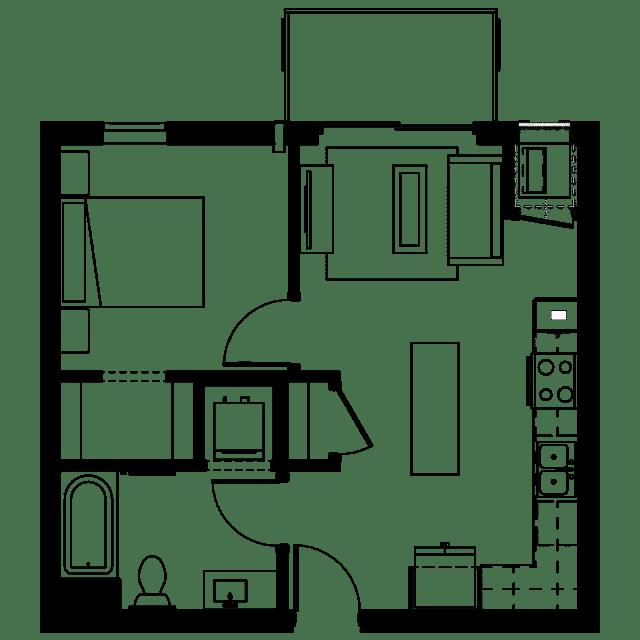 The Fenley Floor Plan A4
