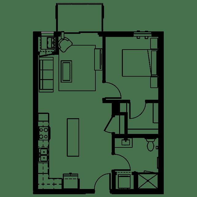 The Fenley Floor Plan B2