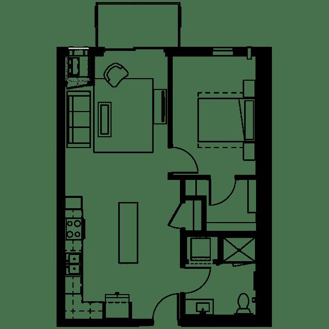 The Fenley Floor Plan B6