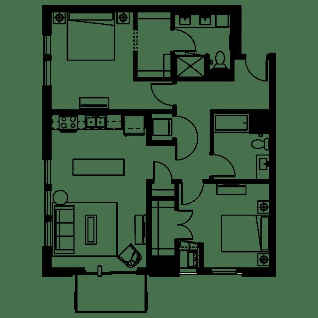 The Fenley Floor Plan C7