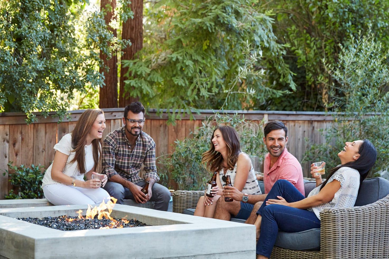 The Fenley Friends Enjoying Outside
