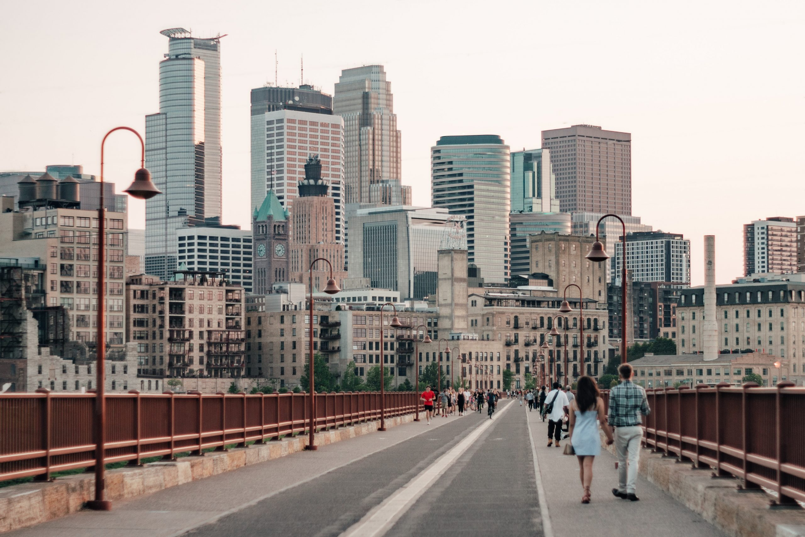 Easy commute from The Fenley to downtown Minneapolis