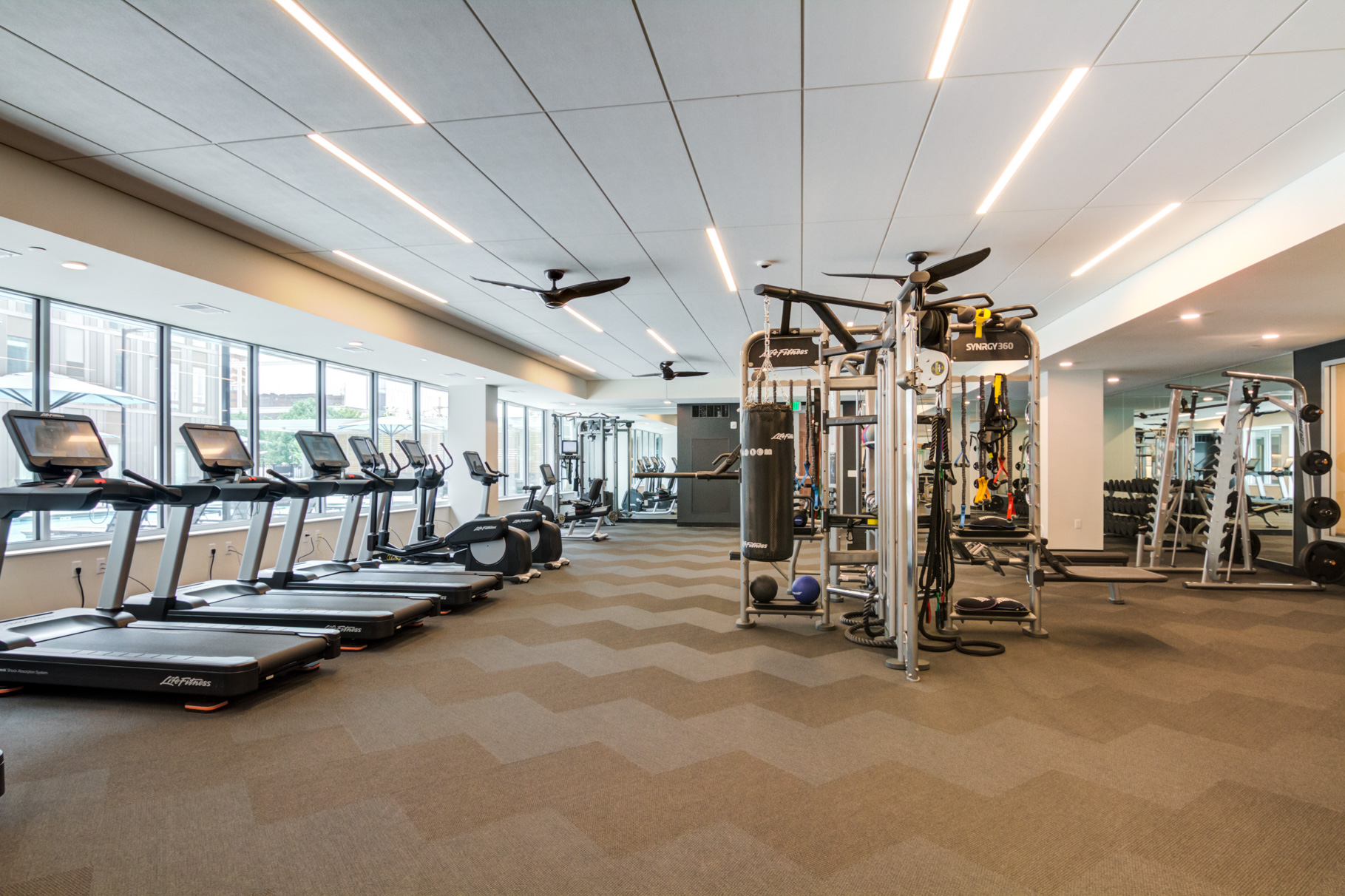 Get fit with cardio gym, Wellbeats, and Yoga On-Demand
